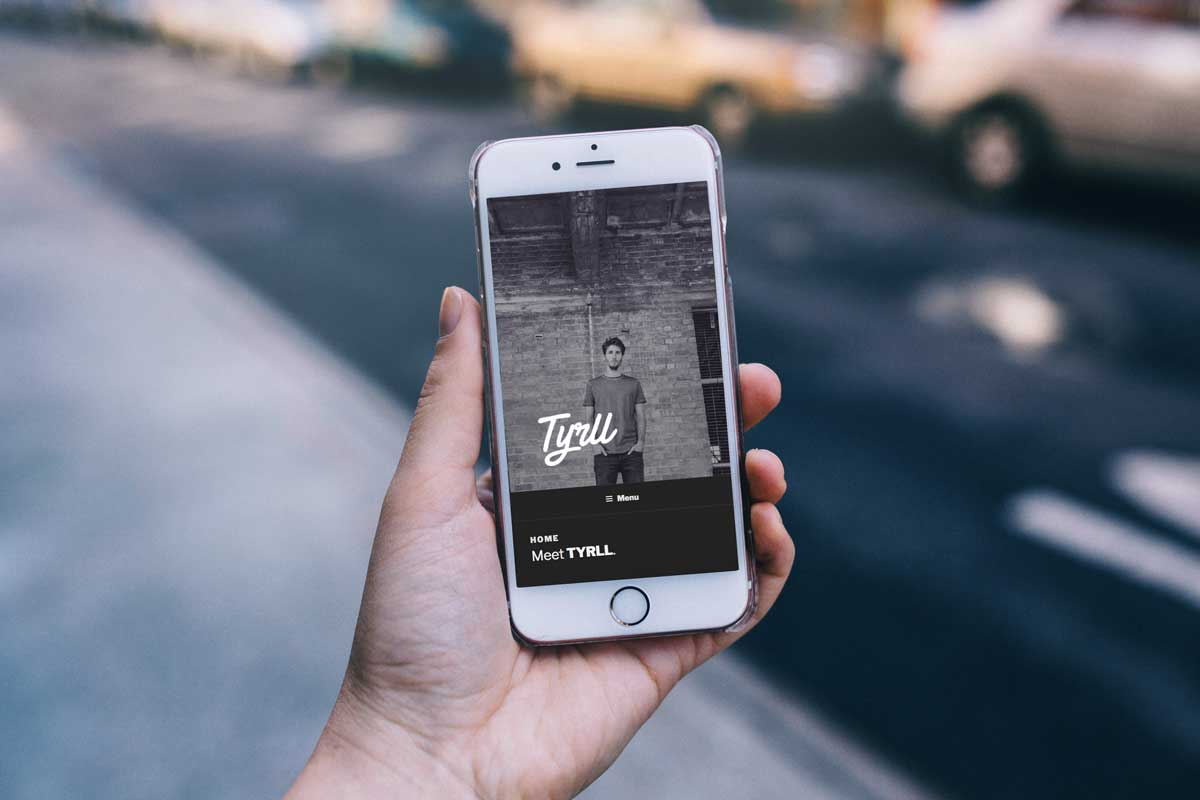 Website & sociale media TYRLL