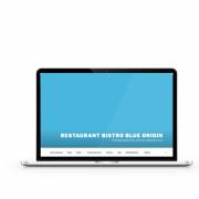 Website Blue Origin - Restaurant Deerlijk
