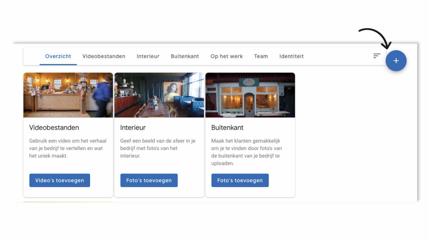 Google Mijn Bedrijf - Hoe foto's toevoegen?