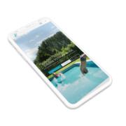Website voor zwembadbouwer en grondwerken Jurgen Putman uit Deerlijk