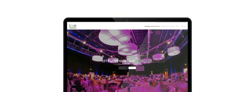 Website voor lott-events - bedrijfsevents & teambuildings